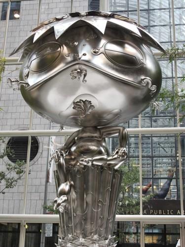Murakami Oval Buddha