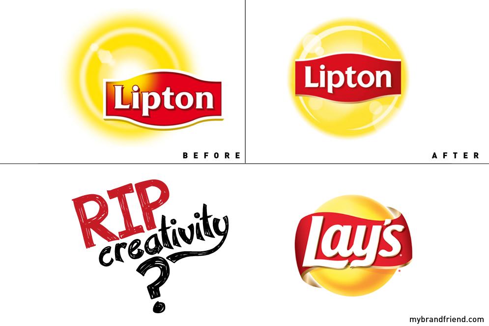 Nouveau logo Lipton