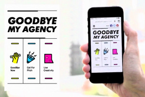 Goodby my agency Saatchi vignette