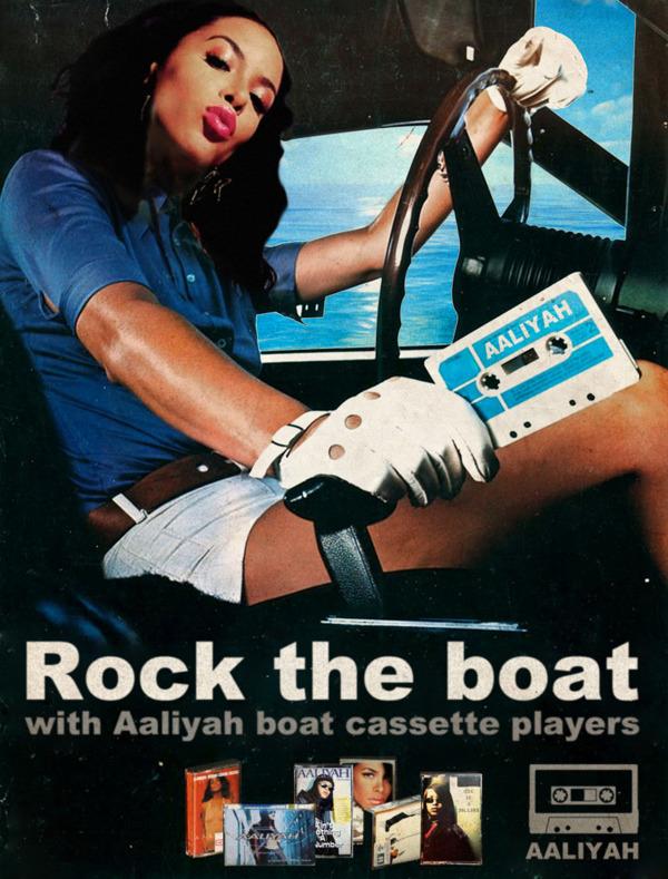 Vintage Ads Aaliyah