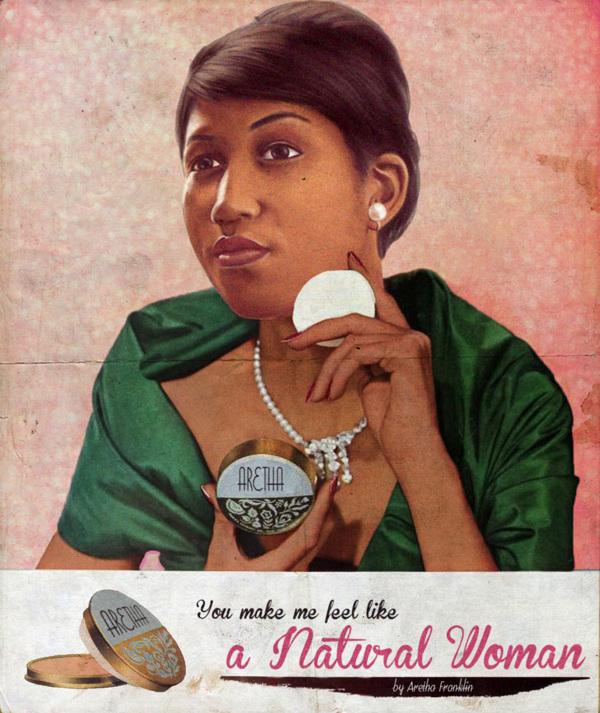Vintage Ads Aretha