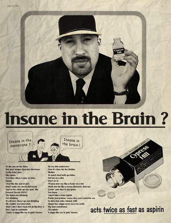 Vintage Ads Cypress Hill