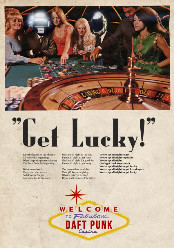 Vintage Ads Daft Punk