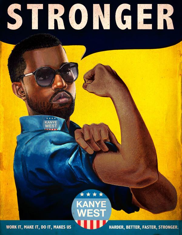 Vintage Ads Kanye West