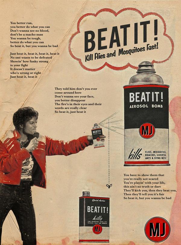 Vintage Ads MJ