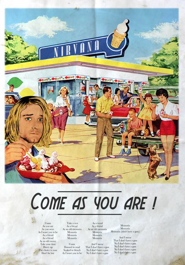 Vintage Ads Nirvana