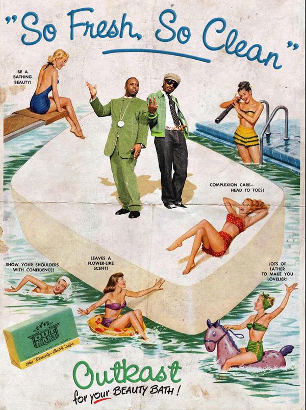 Vintage Ads Outkast