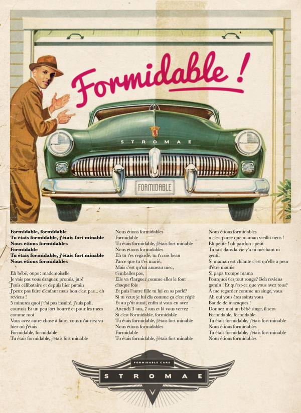 Vintage Ads Stromae