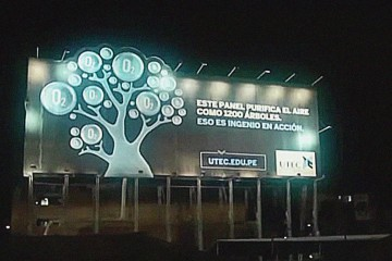 UTEC Billboard by Draft FCB Peru
