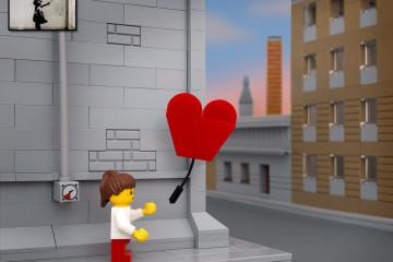 Bricksy : banksy art with lego by Jeff Friesen