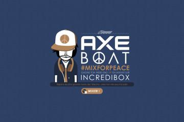 Axe #mixforpeace ONG Peace One Day