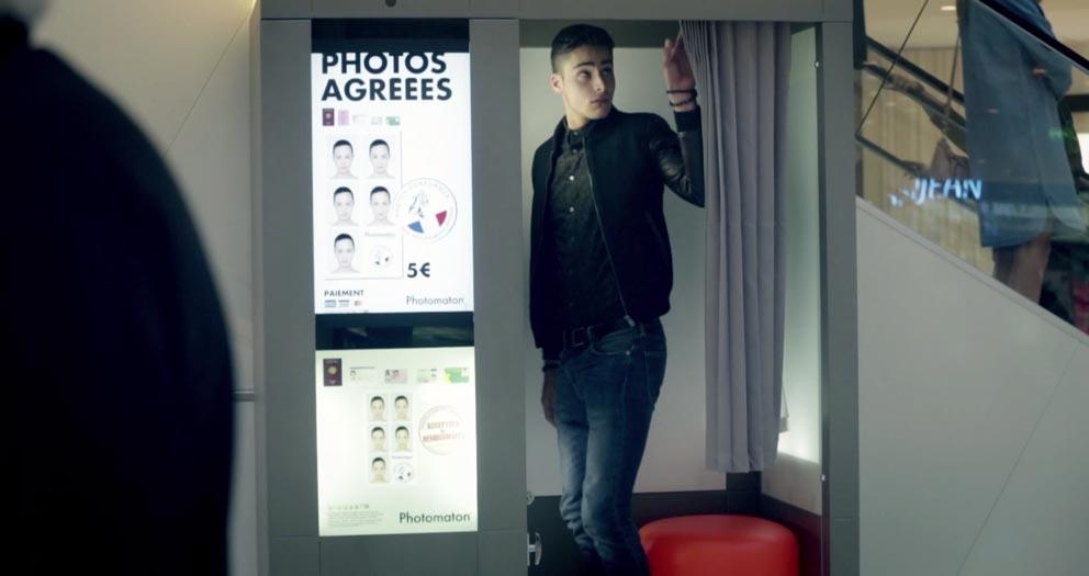 Meetic Photomaton by Buzzman