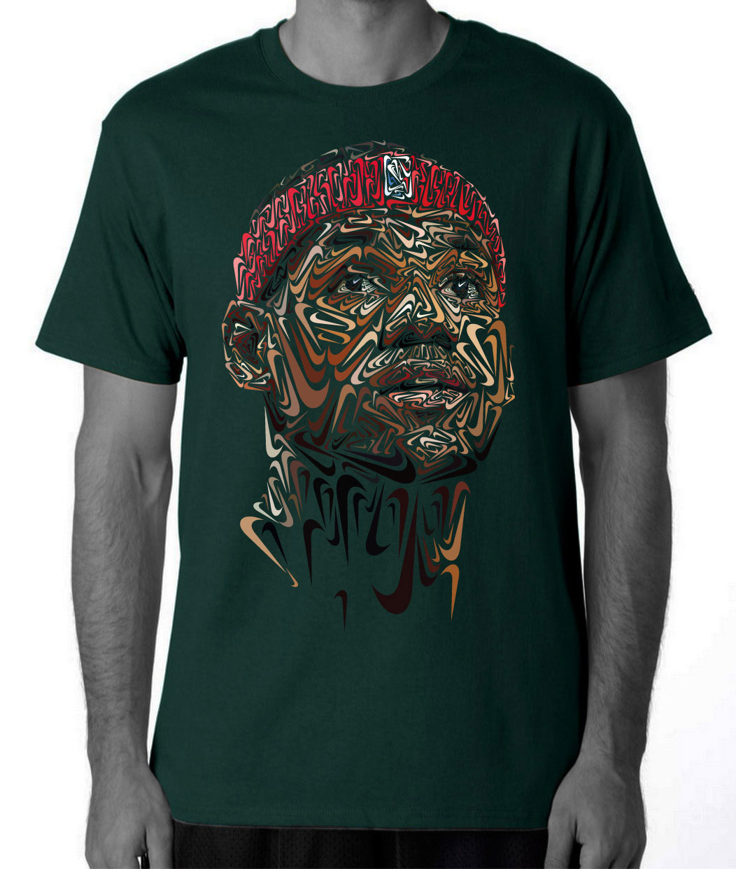 Andy Gellenberg Lebron James T-Shirt