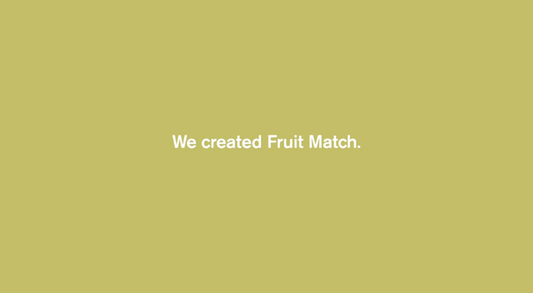 McDonald's Fruit Match