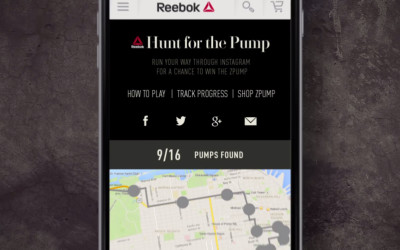 Reebok Hunt For The Pump #HuntThePump
